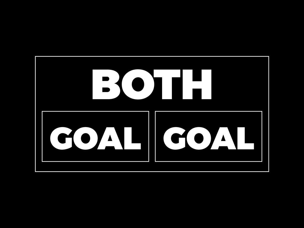 BOTH GOAL GOAL