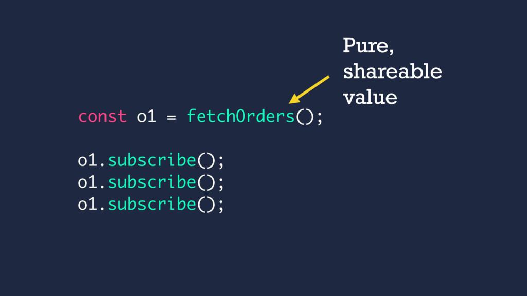 const o1 = fetchOrders(); o1.subscribe(); o1.su...