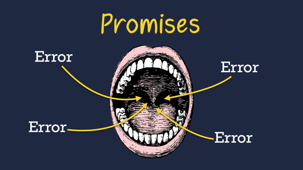 Error Error Error Error Promises