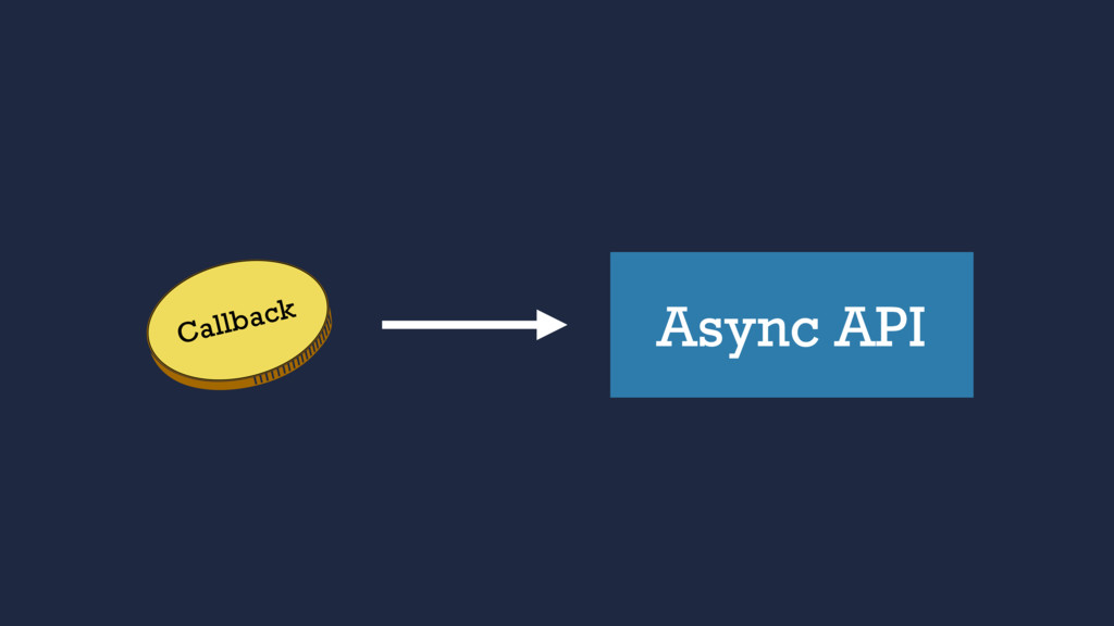Async API Callback