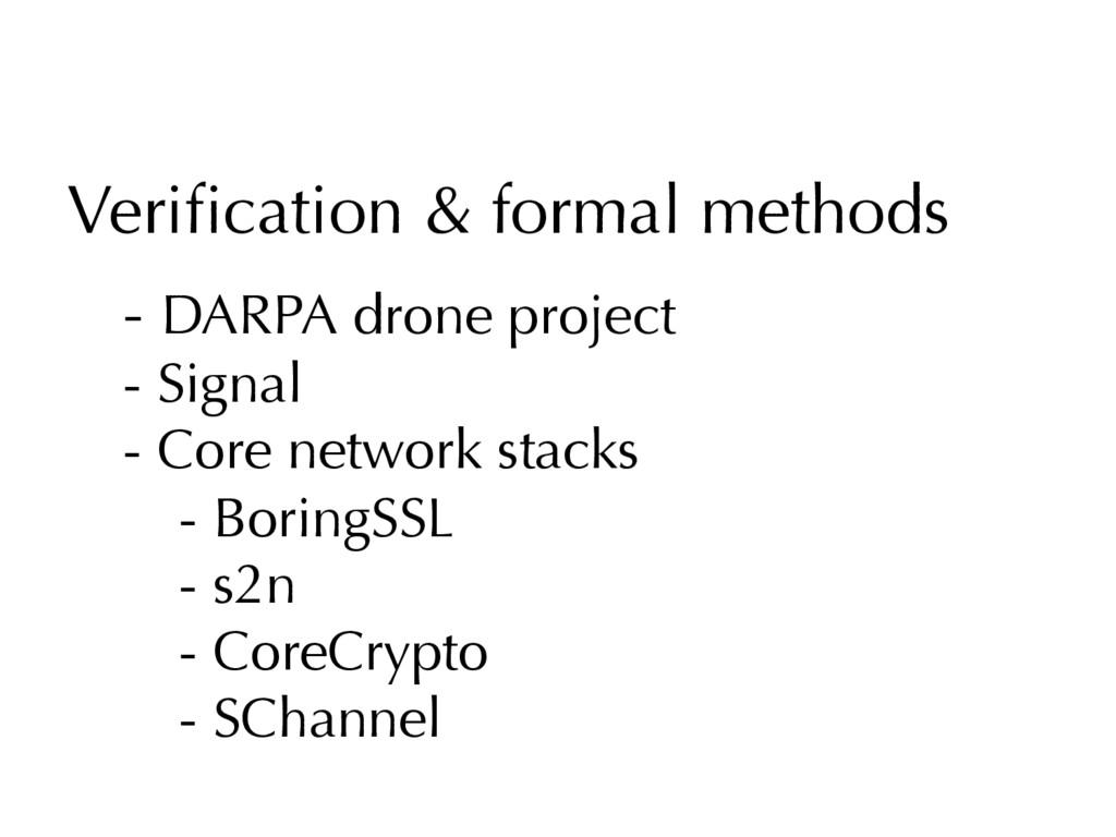 Verification & formal methods - DARPA drone proj...