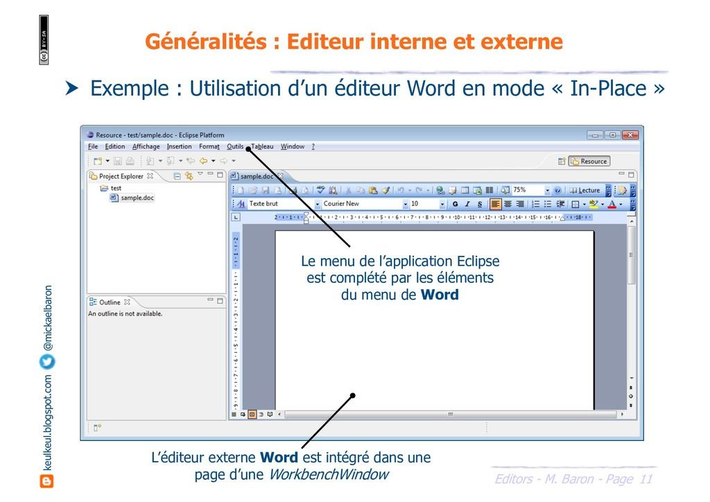 11 Editors - M. Baron - Page keulkeul.blogspot....