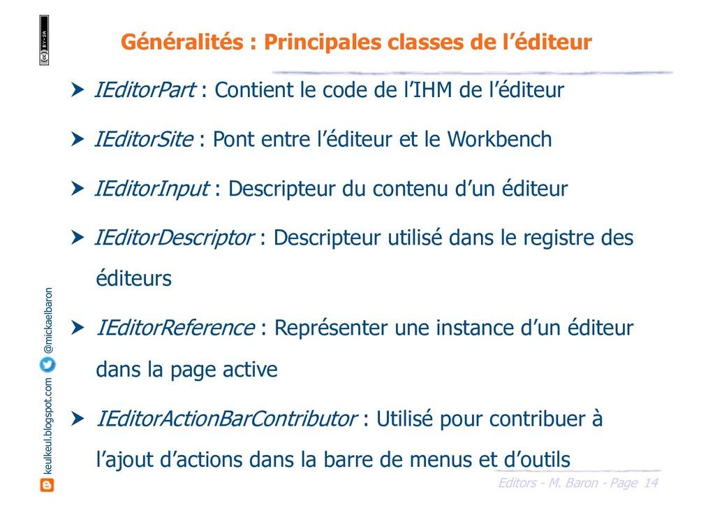 14 Editors - M. Baron - Page keulkeul.blogspot....