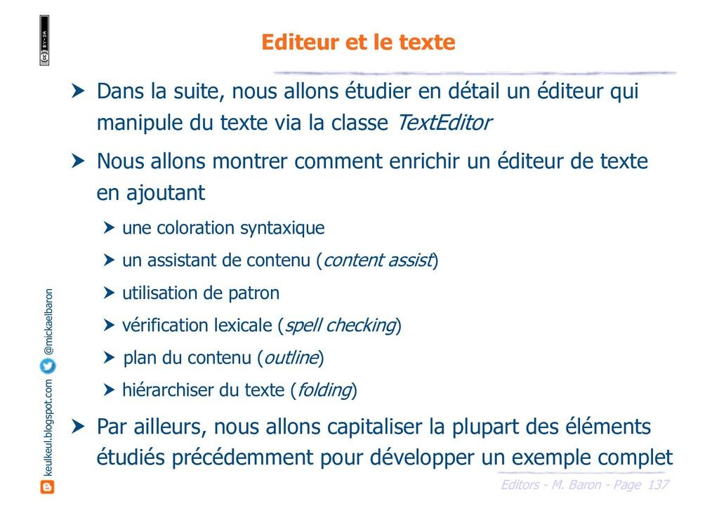 137 Editors - M. Baron - Page keulkeul.blogspot...