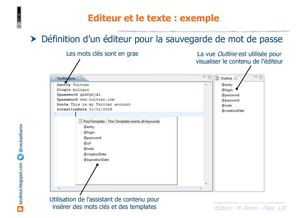 138 Editors - M. Baron - Page keulkeul.blogspot...