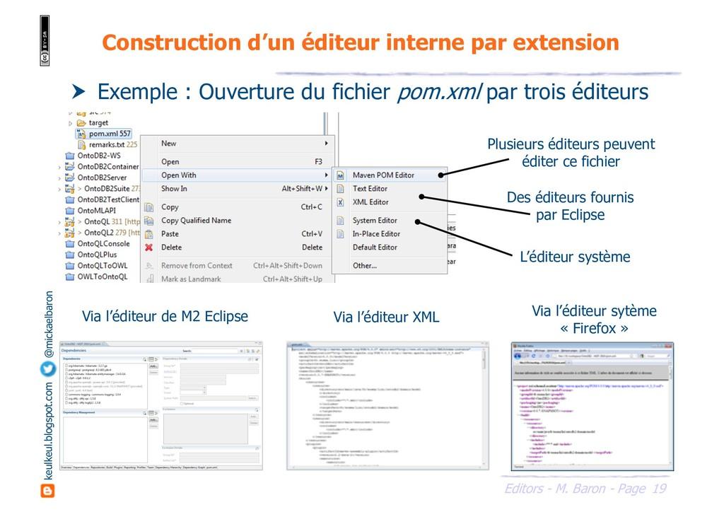 19 Editors - M. Baron - Page keulkeul.blogspot....