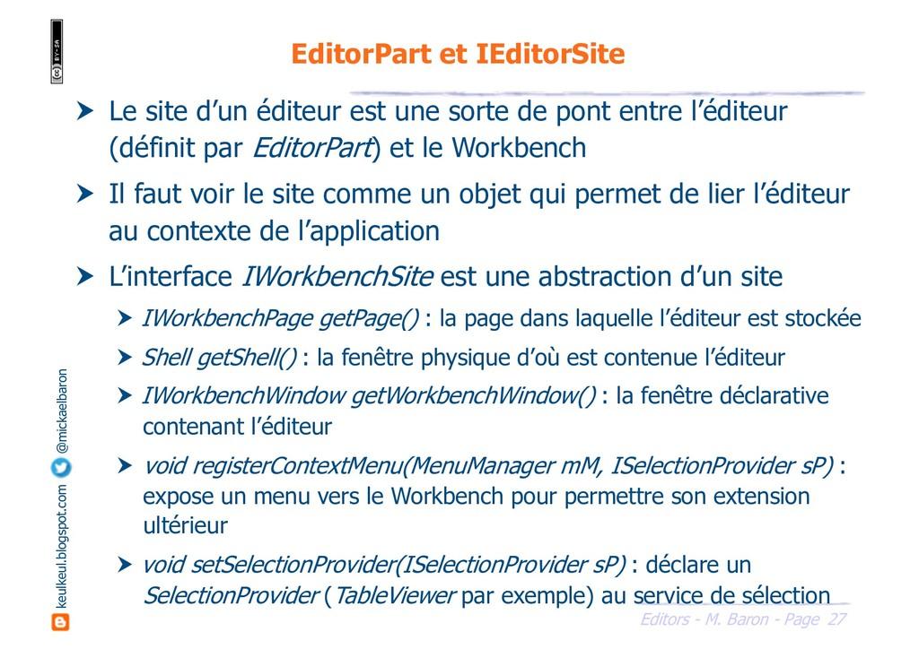 27 Editors - M. Baron - Page keulkeul.blogspot....
