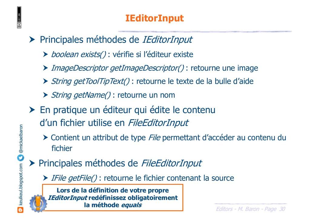 30 Editors - M. Baron - Page keulkeul.blogspot....