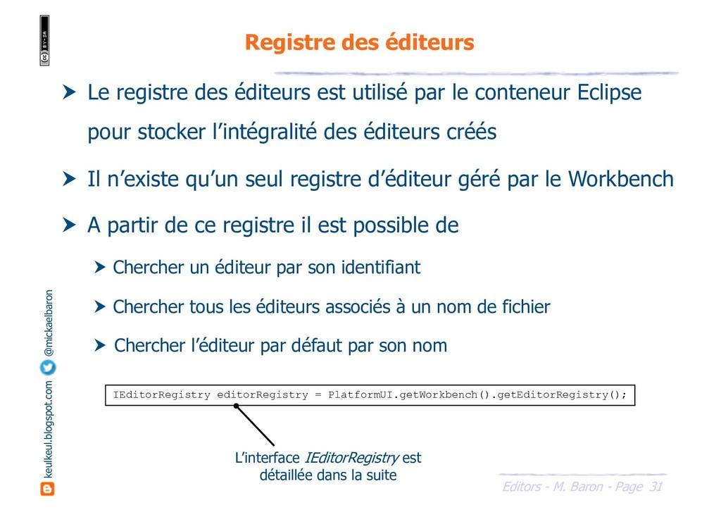 31 Editors - M. Baron - Page keulkeul.blogspot....