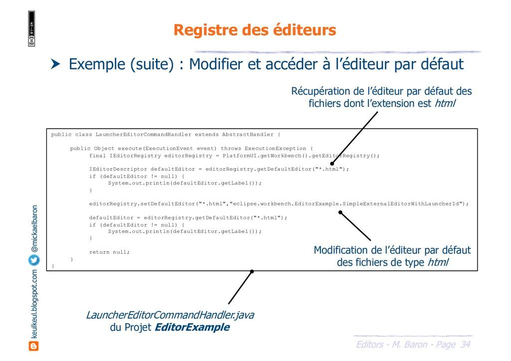 34 Editors - M. Baron - Page keulkeul.blogspot....