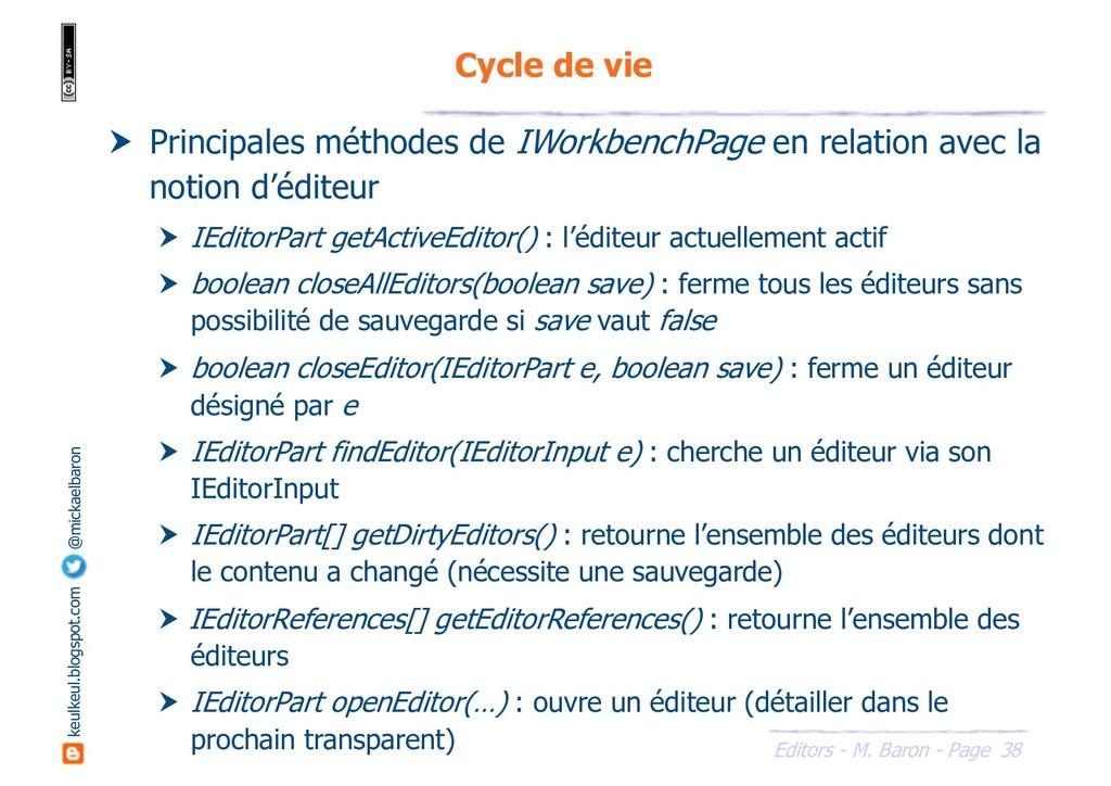 38 Editors - M. Baron - Page keulkeul.blogspot....