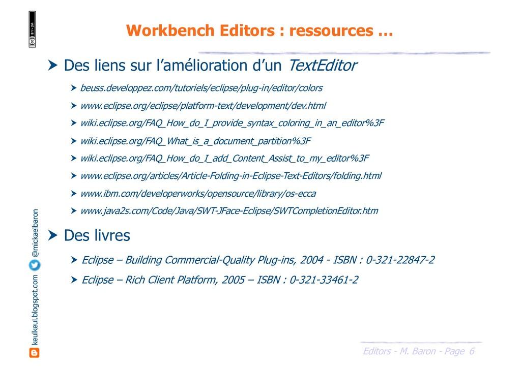 6 Editors - M. Baron - Page keulkeul.blogspot.c...