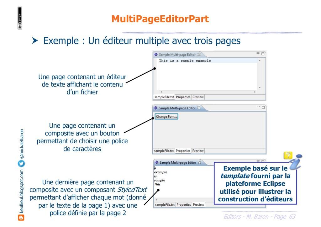 63 Editors - M. Baron - Page keulkeul.blogspot....