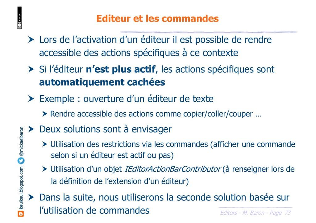 73 Editors - M. Baron - Page keulkeul.blogspot....