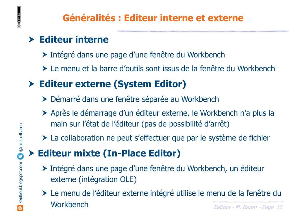 10 Editors - M. Baron - Page keulkeul.blogspot....
