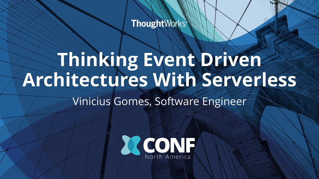 Thinking Event Driven Architectures With Server...
