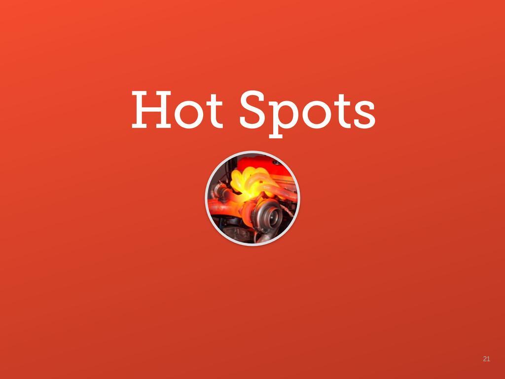21 Hot Spots