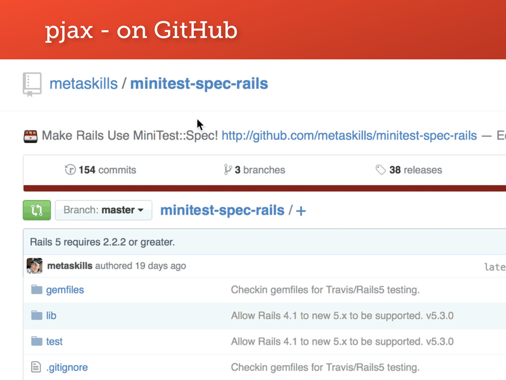 pjax - on GitHub 6