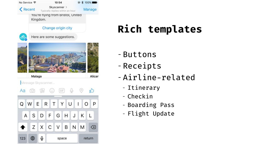 Rich templates - Buttons - Receipts - Airline-r...
