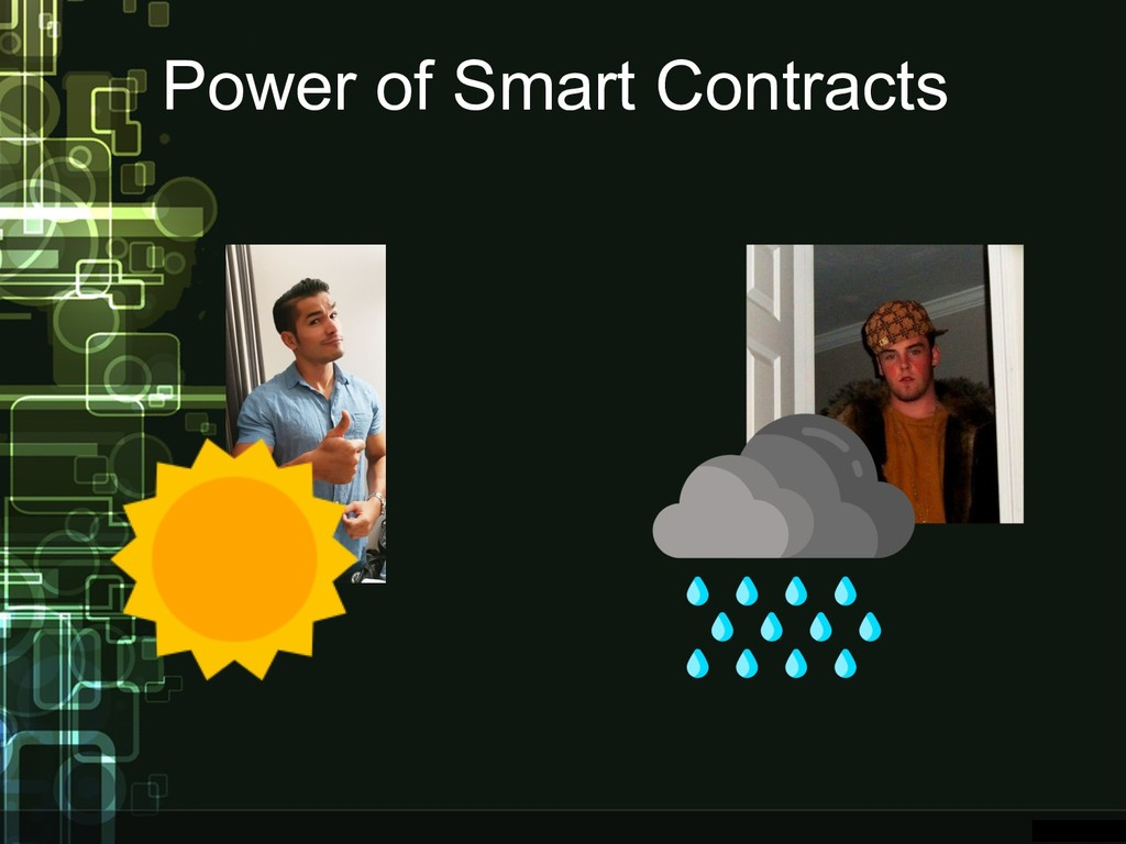Power of Smart Contracts