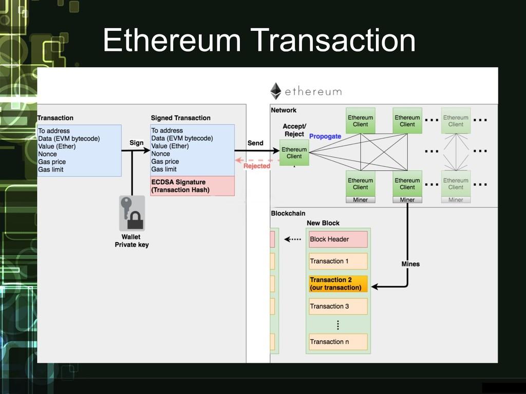 Ethereum Transaction