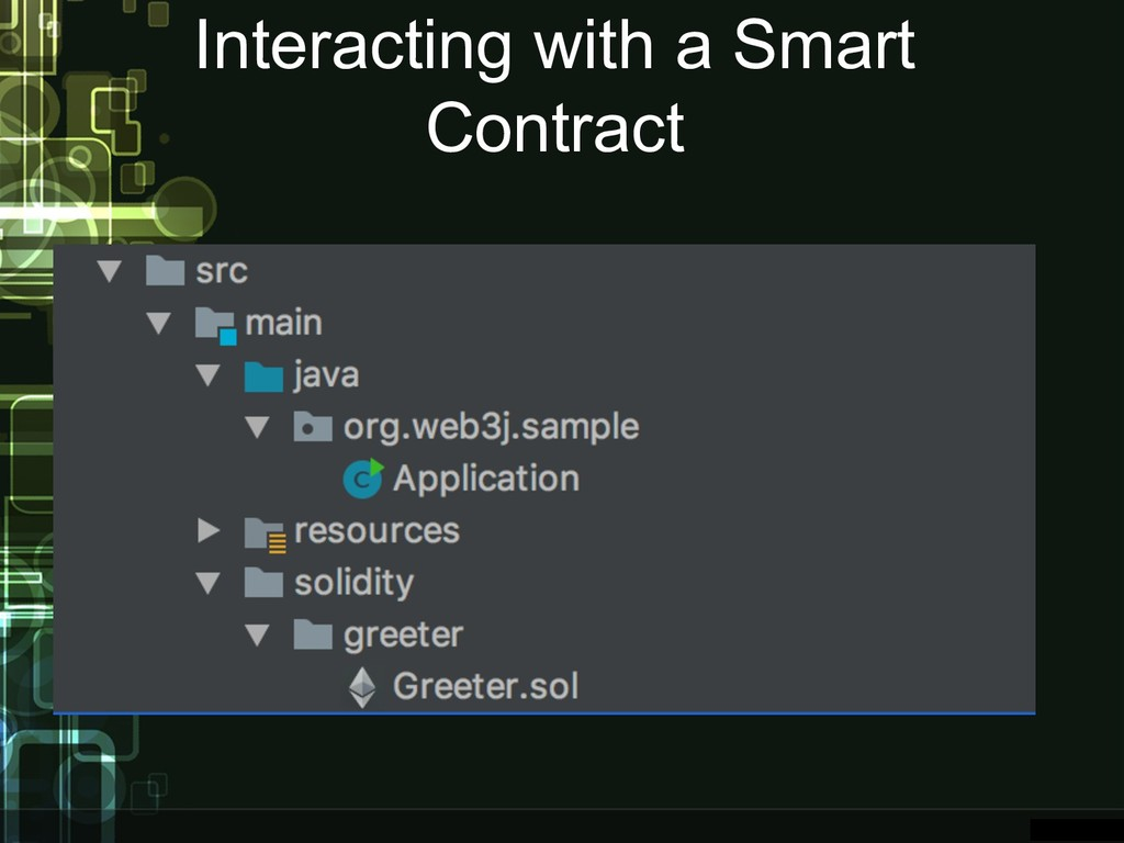 Interacting with a Smart Contract