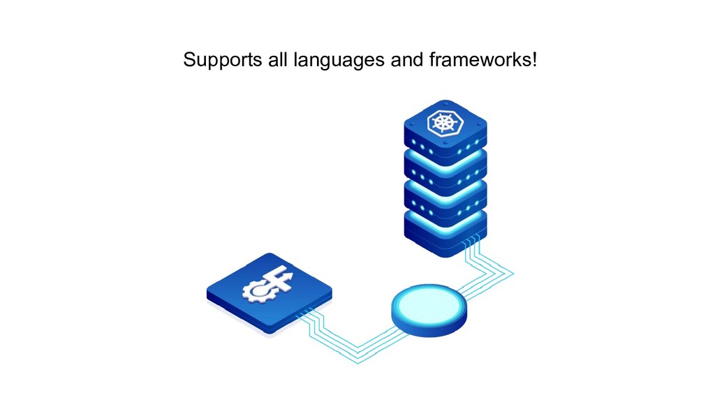 Supports all languages and frameworks!