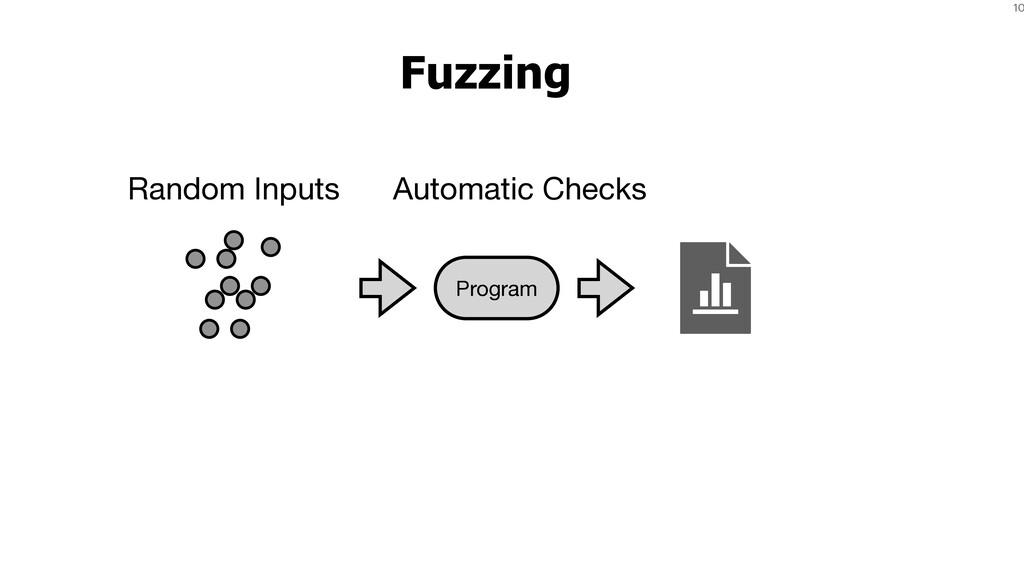 10 Fuzzing Random Inputs Program Automatic Chec...