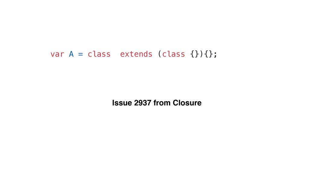 var A = class extends (class {}){}; Issue 2937 ...