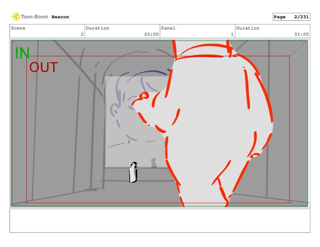 Scene 2 Duration 05:00 Panel 1 Duration 01:00 B...