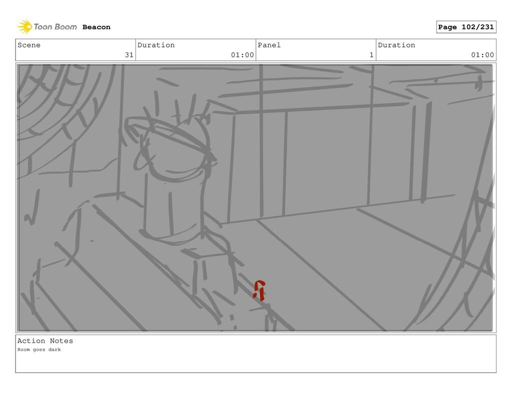 Scene 31 Duration 01:00 Panel 1 Duration 01:00 ...