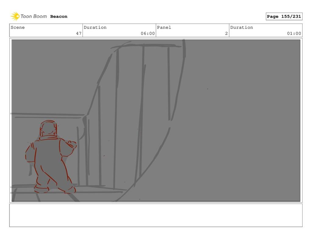 Scene 47 Duration 06:00 Panel 2 Duration 01:00 ...
