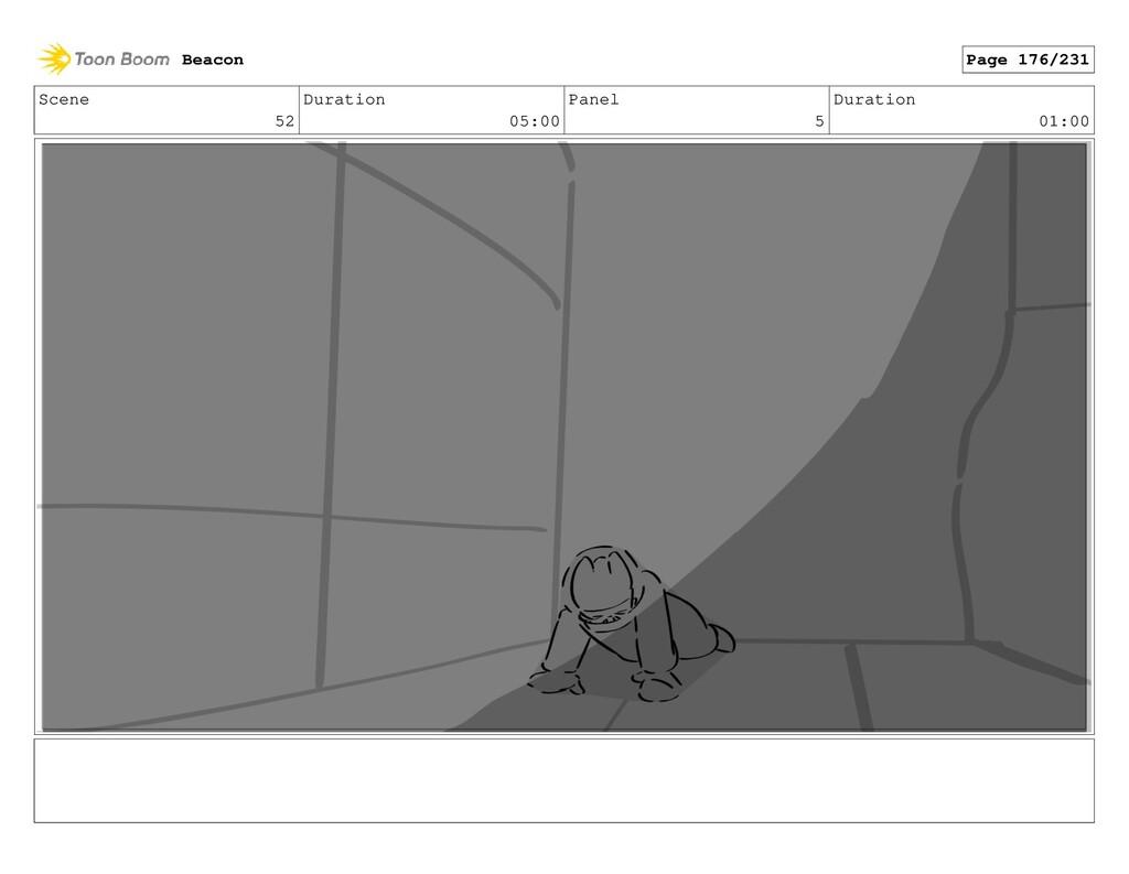 Scene 52 Duration 05:00 Panel 5 Duration 01:00 ...