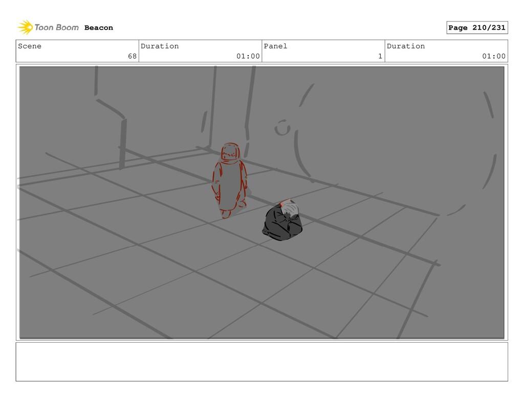 Scene 68 Duration 01:00 Panel 1 Duration 01:00 ...