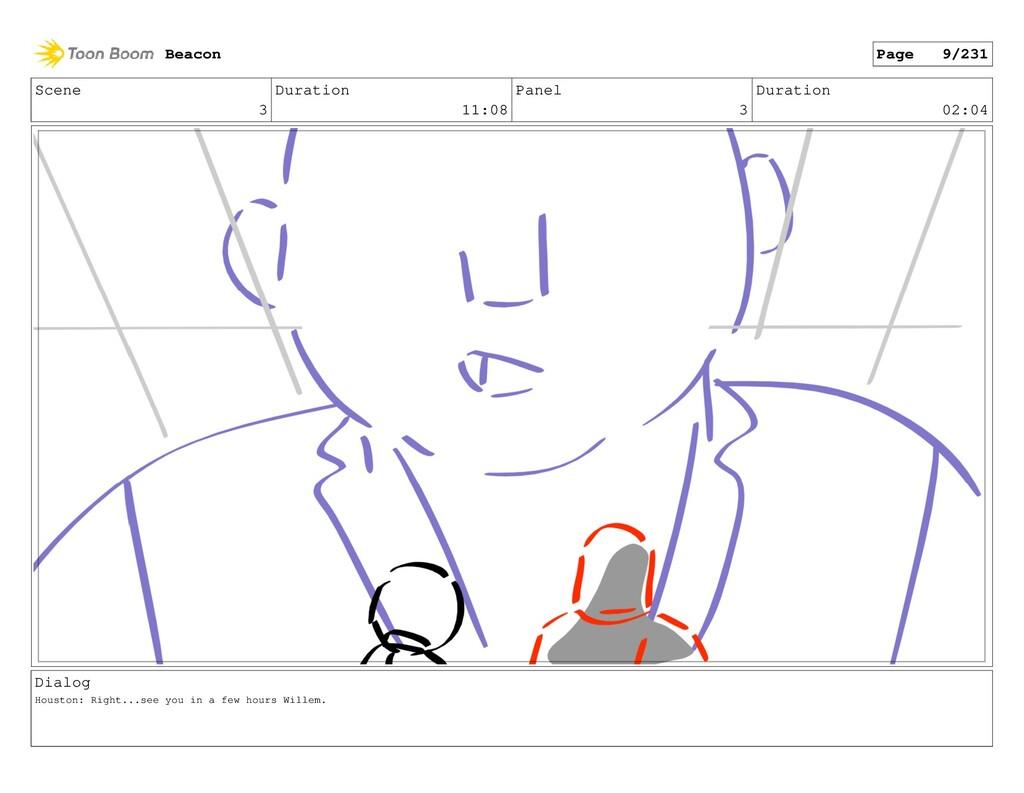 Scene 3 Duration 11:08 Panel 3 Duration 02:04 D...
