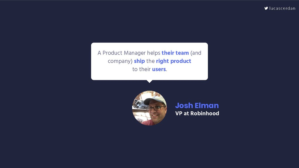 A Product Manager helps their team (and company...