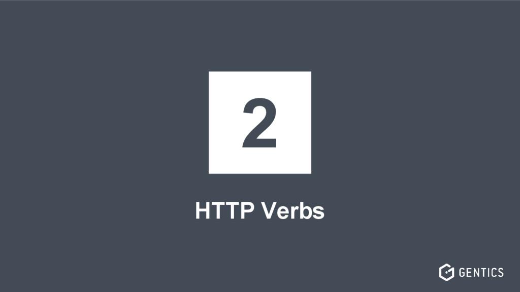 HTTP Verbs 2