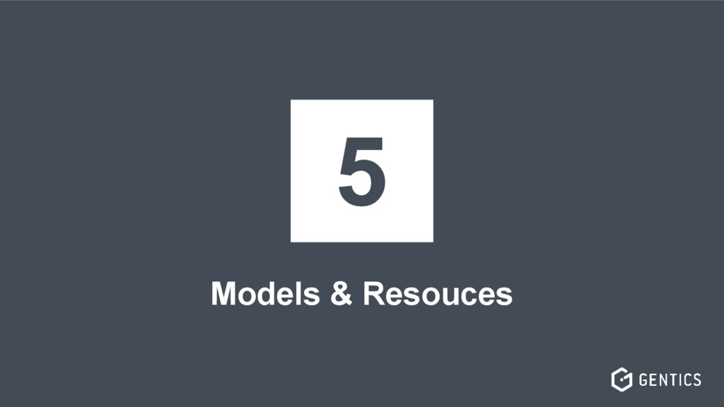 Models & Resouces 5