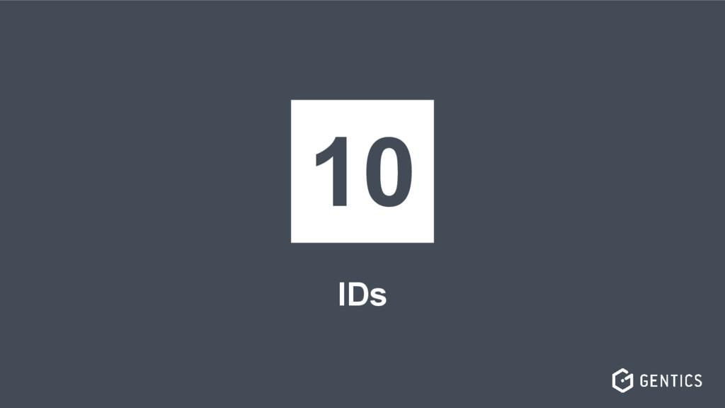 IDs 10