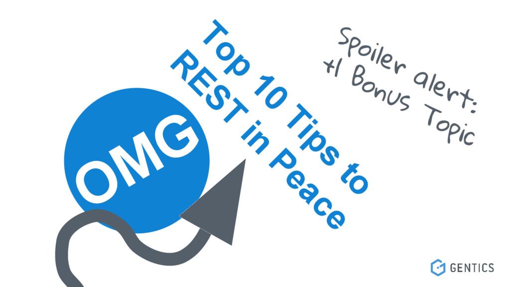 OMG Top 10 Tips to R EST in Peace Spoiler alert...