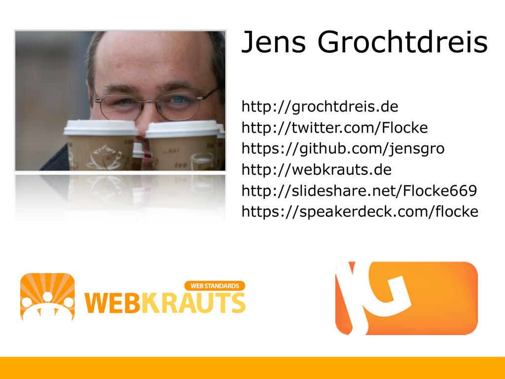 Jens Grochtdreis http://grochtdreis.de http://t...