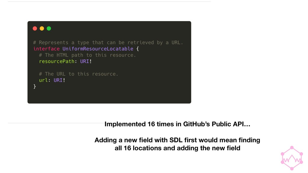 Implemented 16 times in GitHub's Public API… Ad...