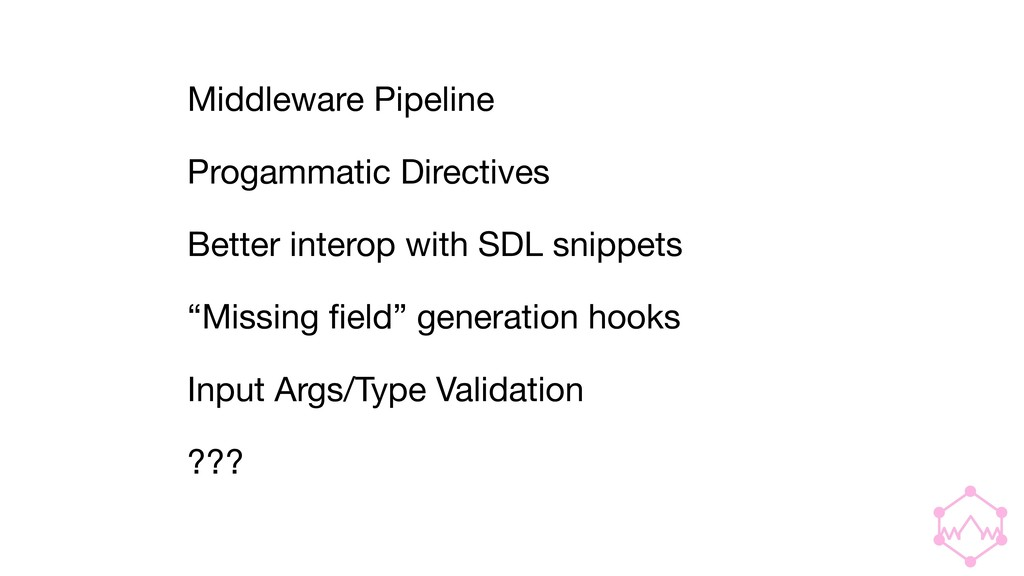 Middleware Pipeline  Progammatic Directives  Be...