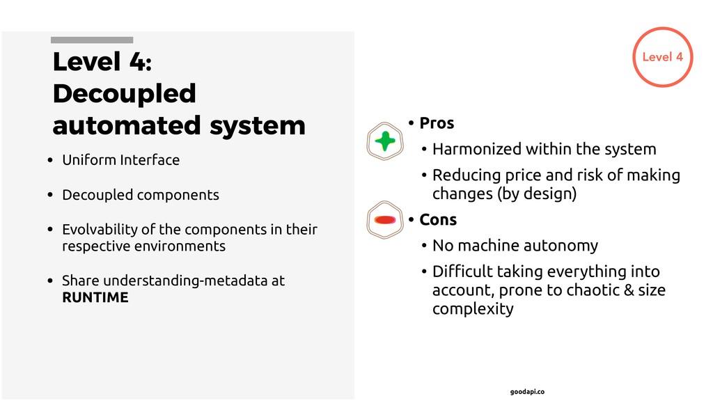 goodapi.co Level 4: Decoupled automated system ...