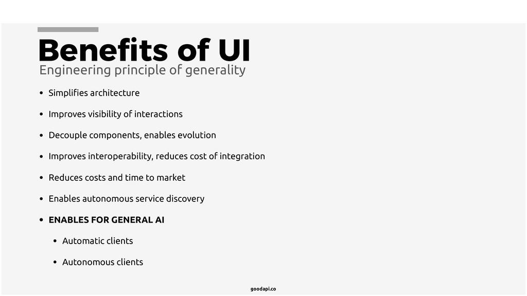 goodapi.co Benefits of UI Engineering principle ...