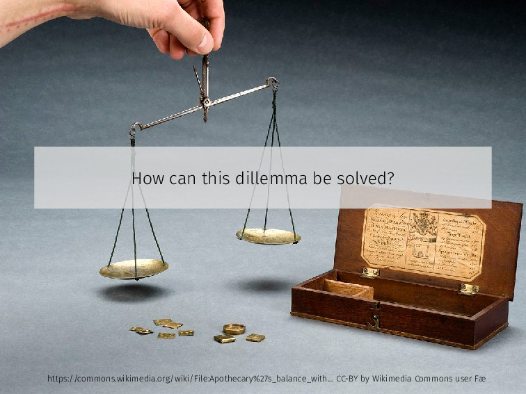 How can this dillemma be solved? https://common...