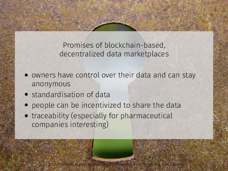 Promises of blockchain-based, decentralized dat...