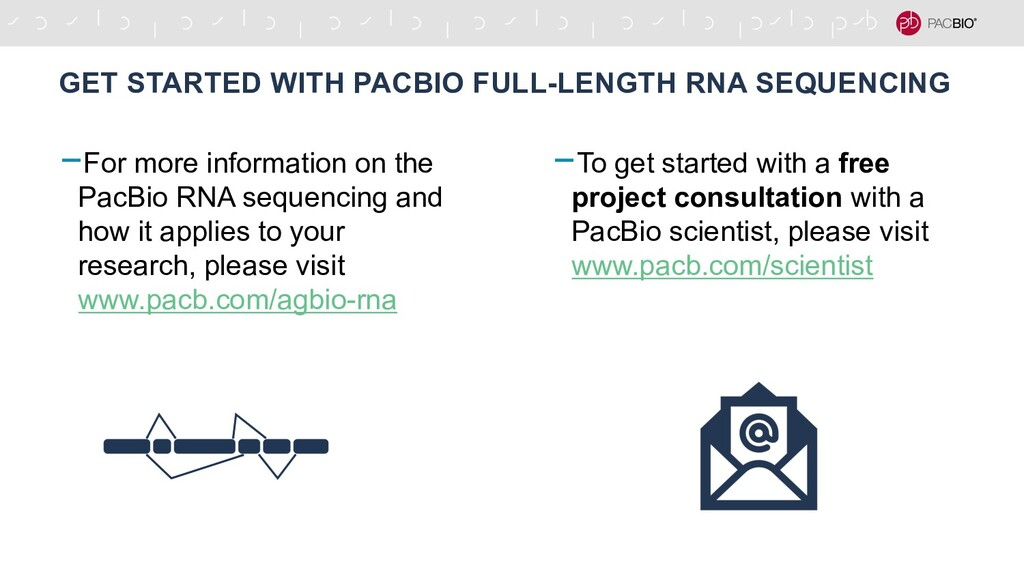 -For more information on the PacBio RNA sequenc...