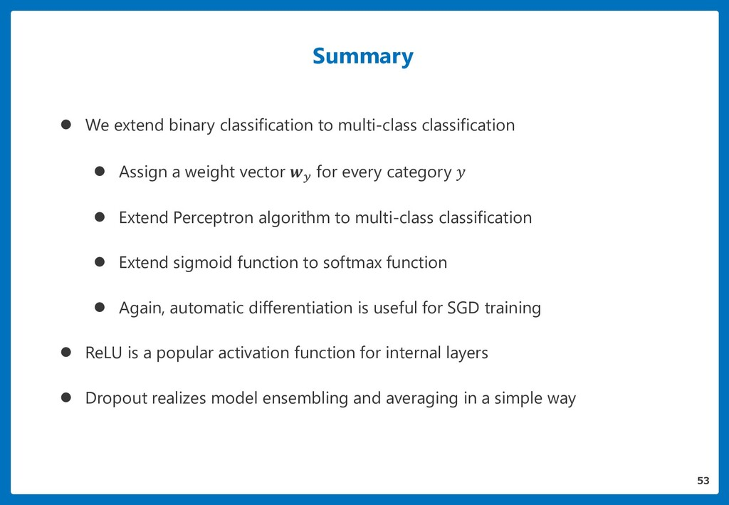 Summary  We extend binary classification to mu...