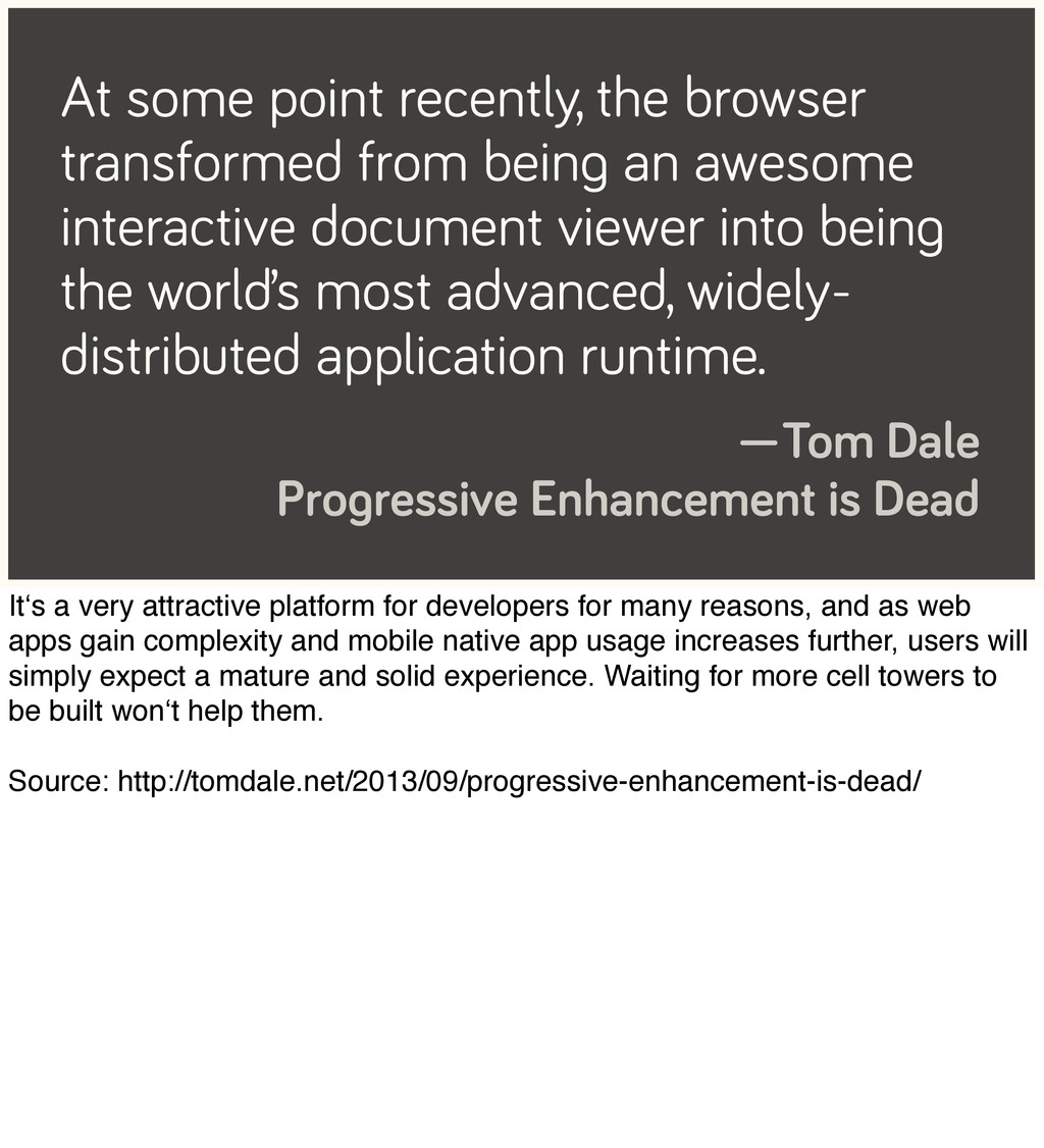 At some point recently, the browser transformed...